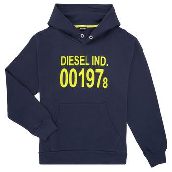 material Children sweaters Diesel SGIRKHOOD Blue