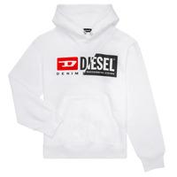 material Children sweaters Diesel SGIRKHOODCUTY White