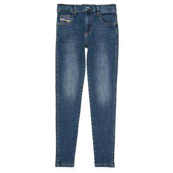 material Girl slim jeans Diesel D-SLANDY HIGH Blue