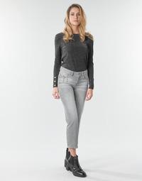 material Women straight jeans Freeman T.Porter LOREEN DENIM Grey