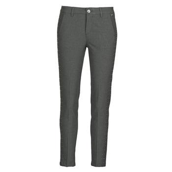 material Women 5-pocket trousers Freeman T.Porter CLAUDIA POLYNEO Grey