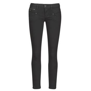 material Women 5-pocket trousers Freeman T.Porter ALEXA CROPPED S-SDM Black