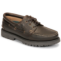 Shoes Men Boat shoes Aigle TARMAC Brown