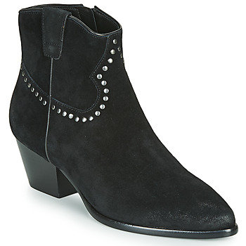 Shoes Women Ankle boots Ash HOUSTON BIS  black