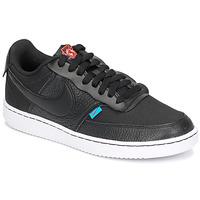 Shoes Women Low top trainers Nike COURT VISION LOW PREM Black