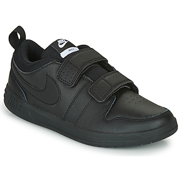 Shoes Children Low top trainers Nike PICO 5 TD Black