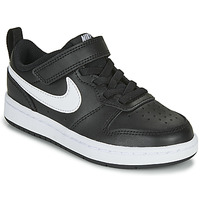 Shoes Children Low top trainers Nike COURT BOROUGH LOW 2 PS Black / White
