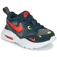 Shoes Boy Low top trainers Nike AIR MAX FUSION TD Blue / Yellow / Red