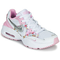 Shoes Girl Low top trainers Nike AIR MAX FUSION SE GS White / Pink