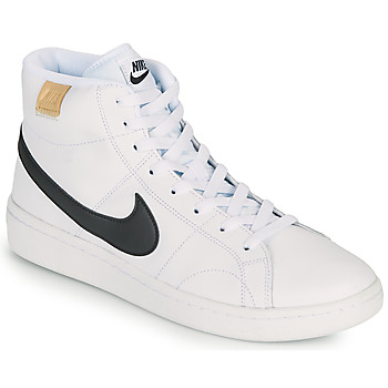 Shoes Men Low top trainers Nike COURT ROYALE 2 MID White / Black