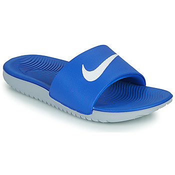 Shoes Children Low top trainers Nike KAWA GS Blue / White