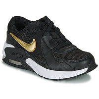 Shoes Children Low top trainers Nike AIR MAX EXCEE PS Black / Gold