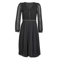 material Women Short Dresses One Step FR30061 Black