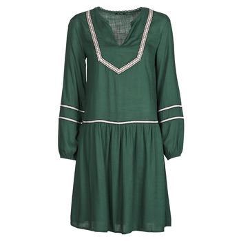 material Women Short Dresses One Step FR30231 Green