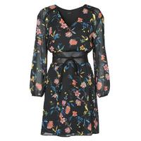material Women Short Dresses One Step FR30301 Black