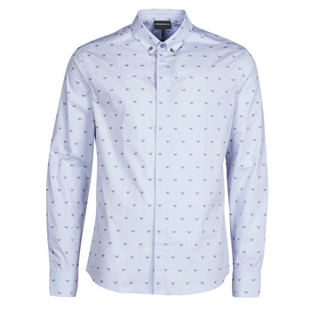 material Men long-sleeved shirts Emporio Armani 6H1C80 Blue