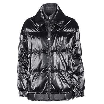 material Women Duffel coats Emporio Armani 6H2B97 Black