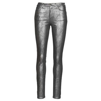 material Women 5-pocket trousers Emporio Armani 6H2J20 Grey / Silver