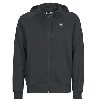 material Men sweaters Under Armour UA RIVAL FLEECE FZ Black