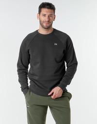 material Men sweaters Under Armour UA RIVAL FLEECE CREW Black