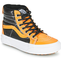 Shoes Boy High top trainers Vans SK8-HI MTE Camel / Black