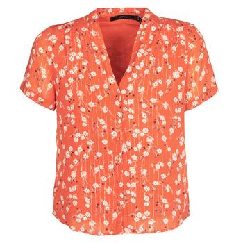material Women Blouses Vero Moda VMSOFIE Red