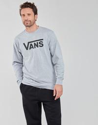 material Men Long sleeved shirts Vans VANS CLASSIC LS Grey