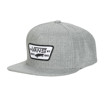 Clothes accessories Caps Vans FULL PATCH SNAPBACK Grey