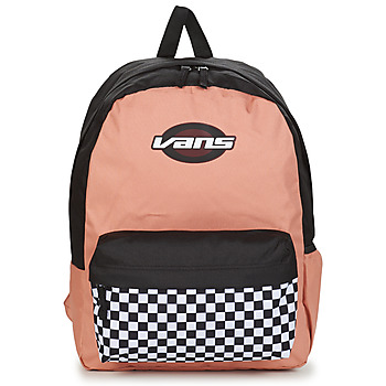 Bags Women Rucksacks Vans STREET SPORT REALM BACKPACK Pink / Grey