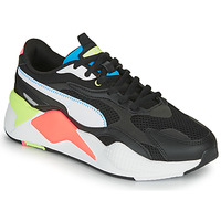 Shoes Low top trainers Puma RS-X3 Black / White / Coral
