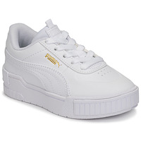 Shoes Girl Low top trainers Puma CALI SPORT PS White