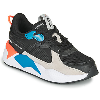 Shoes Children Low top trainers Puma RS-X MONDAY PS Black / Blue / Red