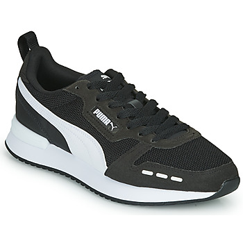 Shoes Men Low top trainers Puma R78 Black