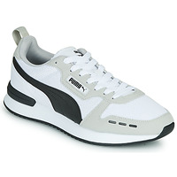 Shoes Men Low top trainers Puma R78 White / Black