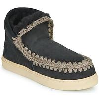 Shoes Women Mid boots Mou ESKIMO SNEAKER Black