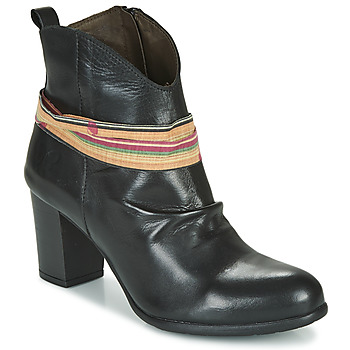 Shoes Women Ankle boots Felmini EMORI Black