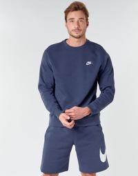 material Men sweaters Nike M NSW CLUB CRW BB Blue