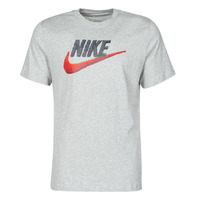 material Men short-sleeved t-shirts Nike M NSW TEE BRAND MARK Grey