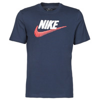 material Men short-sleeved t-shirts Nike M NSW TEE BRAND MARK Blue