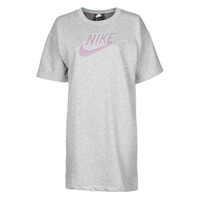 material Women Short Dresses Nike W NSW DRESS FT M2Z Grey