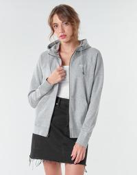 material Women sweaters Nike W NSW ESSNTL HOODIE FZ FLC Grey