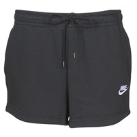 material Women Shorts / Bermudas Nike W NSW ESSNTL SHORT FT Black