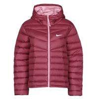 material Women Duffel coats Nike W NSW WR LT WT DWN JKT Bordeaux