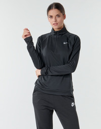 material Women Long sleeved shirts Nike W NK PACER HZ Black