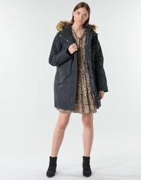 material Women Parkas Billabong COLDER WEATHER Black