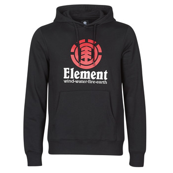 material Men sweaters Element VERTICAL HOOD Black