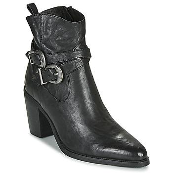 Shoes Women Ankle boots Regard ELVIS V1 BUBBLE NOIR Black