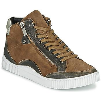 Shoes Women High top trainers Regard ISLANDE V2 BONGO CHAMOIS Brown