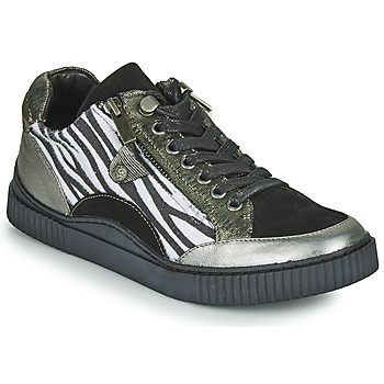 Shoes Women Low top trainers Regard IDEM V5 CRIS ACERO Black