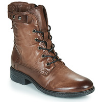Shoes Women Mid boots Dream in Green NELATINE Brown
